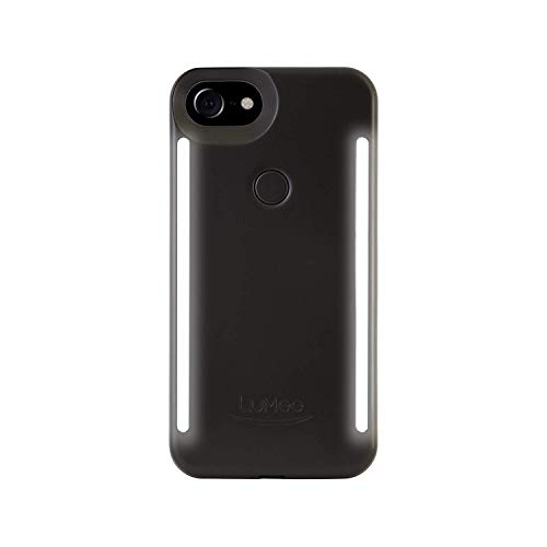 LuMee Duo Phone Case for iPhone 6/6S/7/8 - Matte Black from LuMee