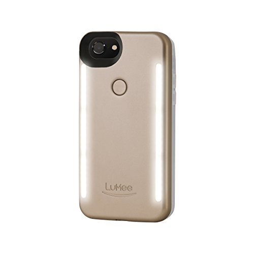 LuMee Duo Phone Case for iPhone 6/6S/7 - Matte Gold from LuMee