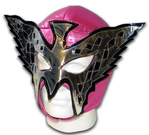 Pink Butterfly Wrestling Lucha Libre Mexican mask from Luchadora