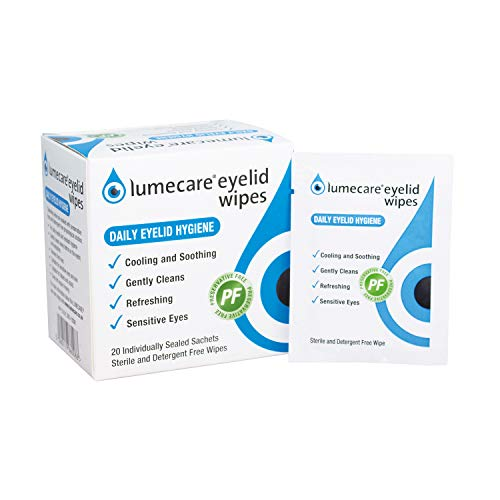 LUMECARE Eyelid Wipes 20 SACHETS x 1 from Lumecare