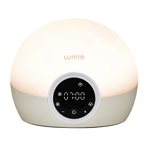 Lumie Bodyclock Spark 100 - Wake-up Light Alarm Clock with Sleep Sunset from Lumie