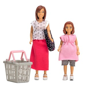 Lundby Doll Set Shopping Figures 3+ years from Lundby