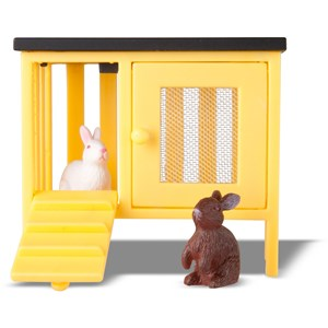 Lundby Dolls House Rabbit and Cage 3 - 10 years from Lundby