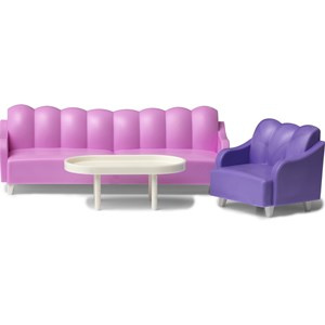 Lundby Dolls House Sofa Set 3 - 11 years from Lundby