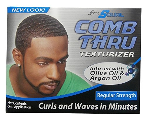 Lusters Luster's curl comb through texturiser, regular strength, one application from Lusters