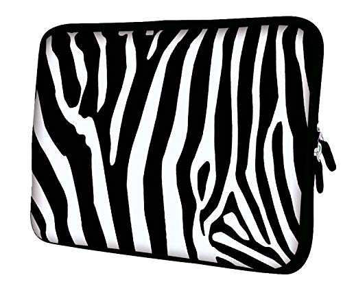 Luxburg 15-Inch Case/Bag/Pouch for Laptop/Tablet - Zebra Design from LUXBURG