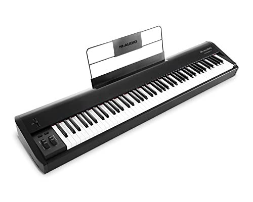 M-Audio Hammer 88 Premium 88-Key Hammer-Action USB/MIDI Keyboard Controller Including Music Studio Grade Software Suite from M-Audio