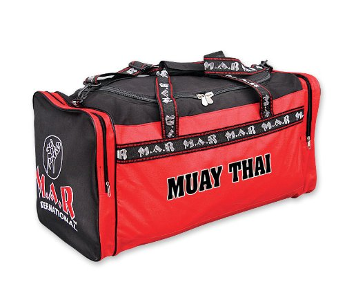 M.A.R International Ltd. Heavy-Duty Nylon Coated Hand and Shoulder Muay Thai Kit Bag Excellent for Carrying Equipment and Accessories from M.A.R International Ltd.