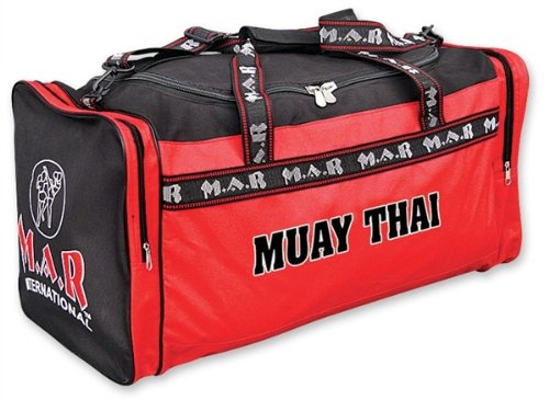 M.A.R InternationalLtd Muay Thai Kit Bag Mixed Martial Arts Holdall Training Sports Bag Supplies Fitness Equipment Gym Bag Gear from M.A.R International Ltd.