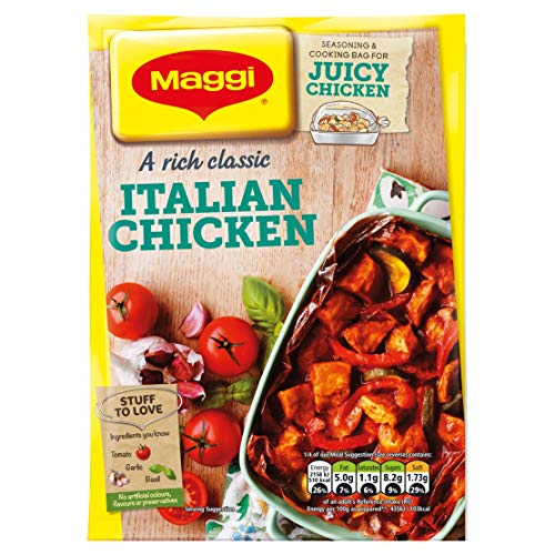 Maggi So Juicy Italian Chicken 37 g (Pack of 16) from MAGGI