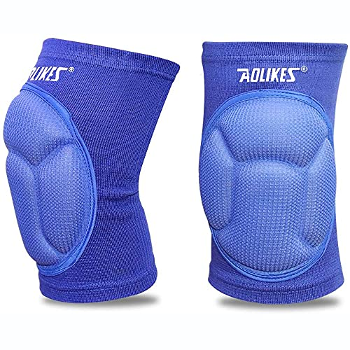MAIBU Knee Pads (1 Pair) Pain Relief Thick Sponge Collision Avoidance Kneepad Non-Slip Skating Dance Volleyball protector from MAIBU