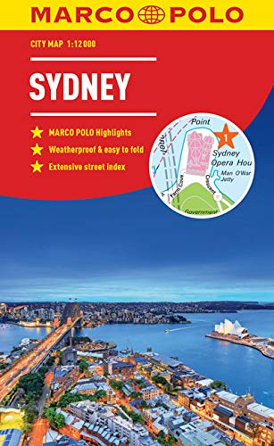 Sydney Marco Polo City Map - pocket size, easy fold, Sydney street map (Marco Polo City Maps) from MAIRDUMONT GmbH & Co. KG