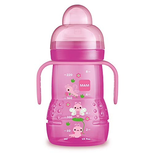 MAM Baby Products 62838222 Bottle Trainer Plus 220 ml Girls , Assorted Colors from MAM Babyartikel