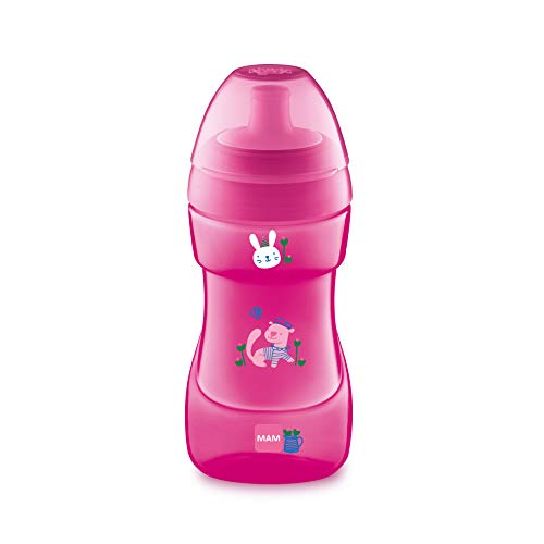 MAM 641422, Babies Sports Cup, Pink, 330 ml from MAM Babyartikel