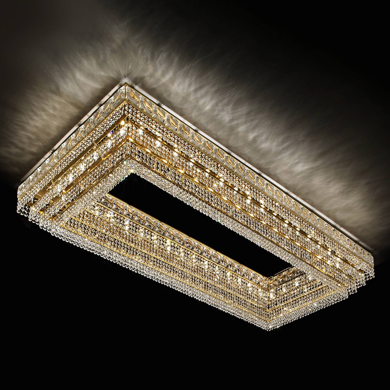 Habsburg - sparkling ceiling light from Masiero