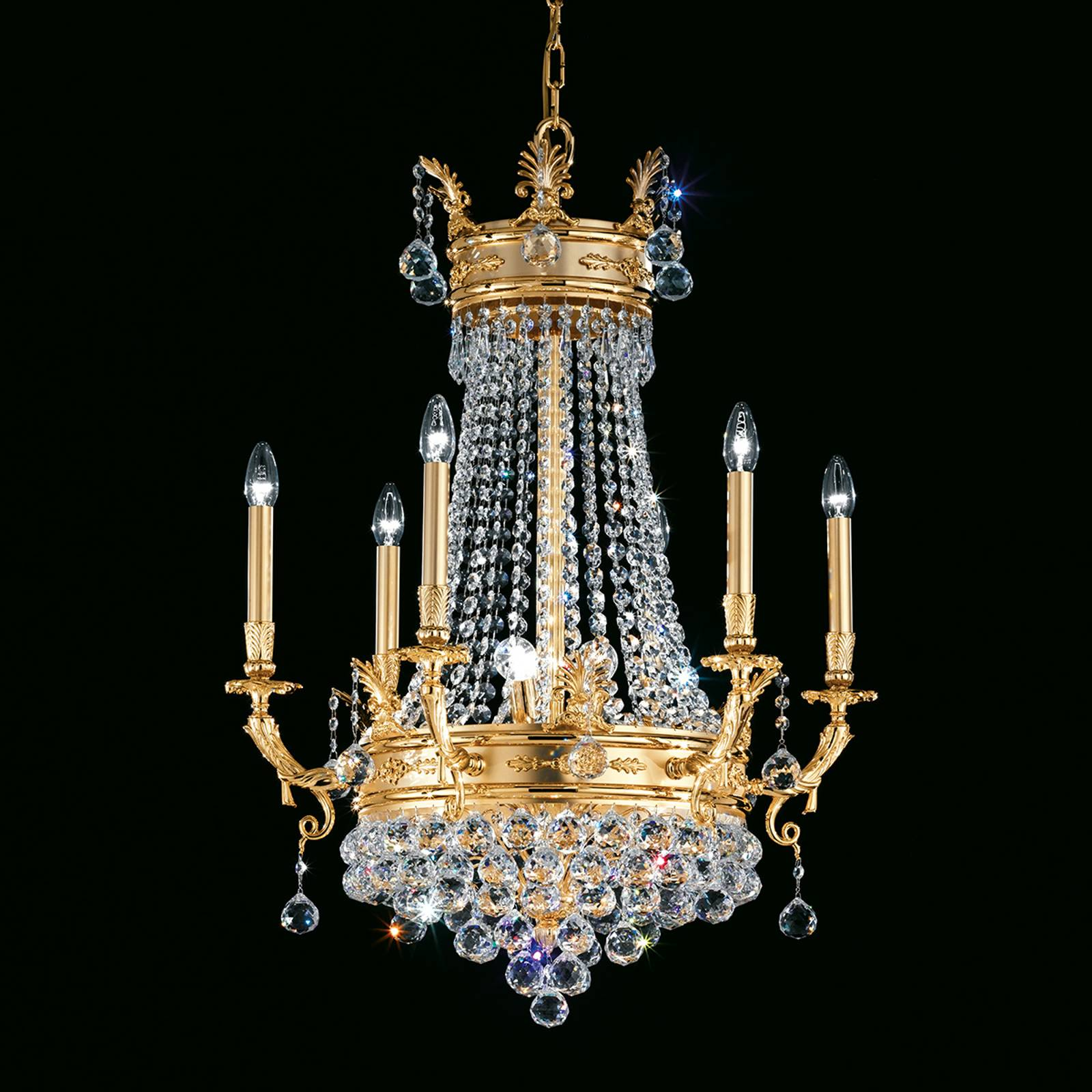 Umbria beguiling chandelier from Masiero