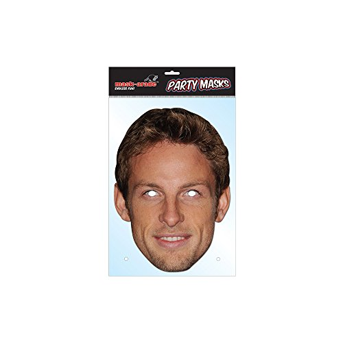 Jenson Button mask (Mask/Headpiece from Jenson