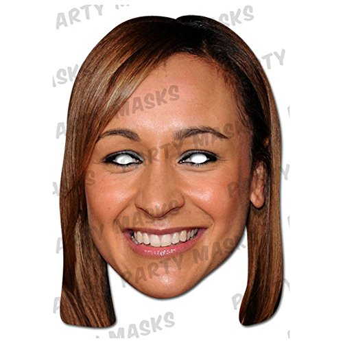 JESSICA Ennis Celebrity Cardboard Masks-Single (Mask/Headpiece from JESSICA