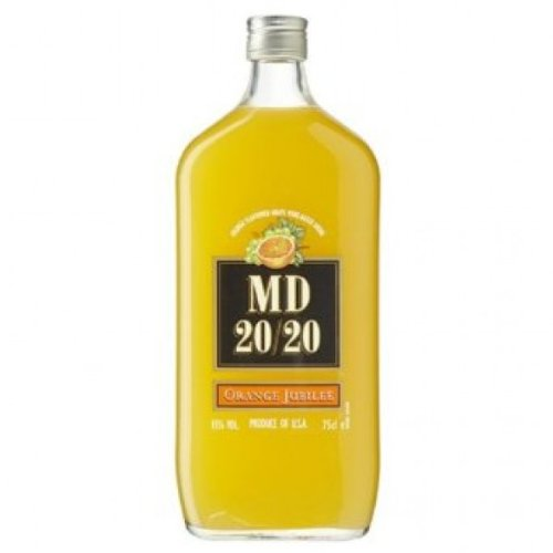 75cl MD 20/20 Orange Flavoured Fortified Wine (Case of 6) from MD 20/20