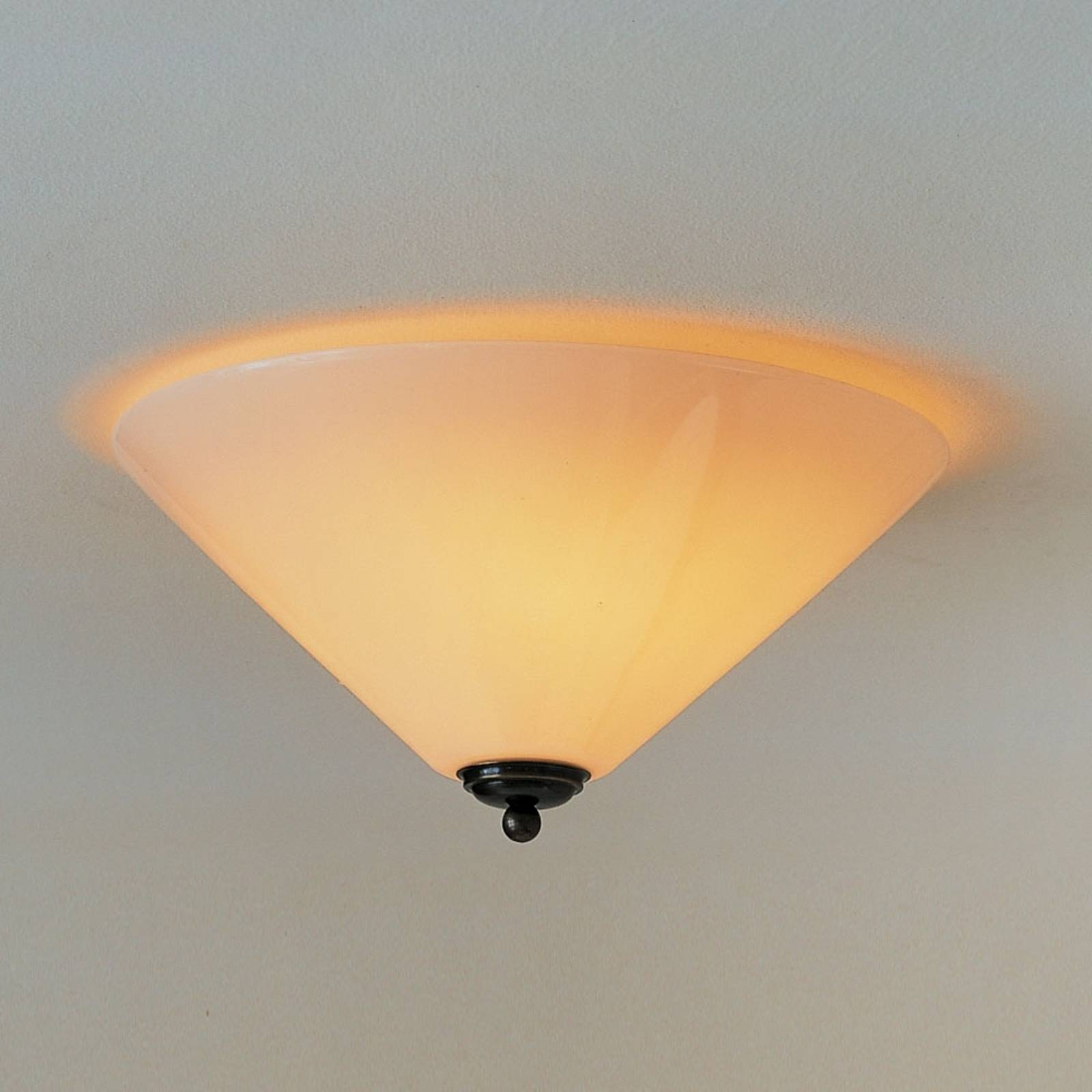 Classic YEAR 1900 ceiling light from MENZEL