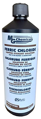 MG Chemicals Ferric Chloride, 945mL Liquid Bottle from MG Chemicals