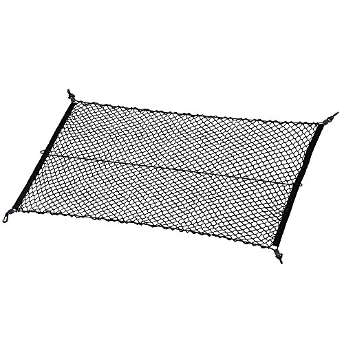MICTUNING Car Boot Cargo Net with 4 Hooks for SUV Truck Bed from MICTUNING