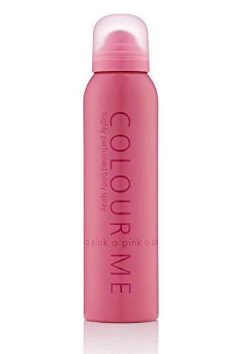Milton-Lloyd Colour Me Highly Perfumed Body Spray, Pink 150 ml from Milton-Lloyd
