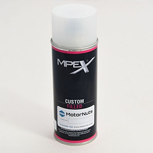 MERCEDES - TENORIT GREY METALLIC 755 - COLOUR MATCHED CAR SPRAY PAINT 400 ML from MPEX