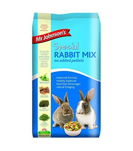 Mr Johnsons Mr Johnson's Special Rabbit Mix - No Added Pellets 15kg from MR JOHNSON