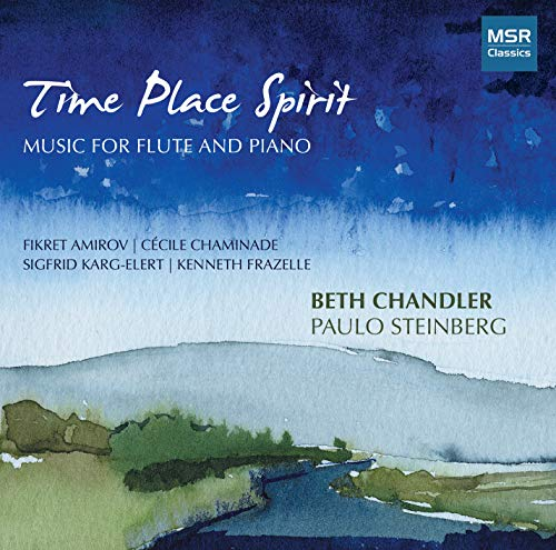 Time Place Spirit / Flute & Piano from MSR Classics