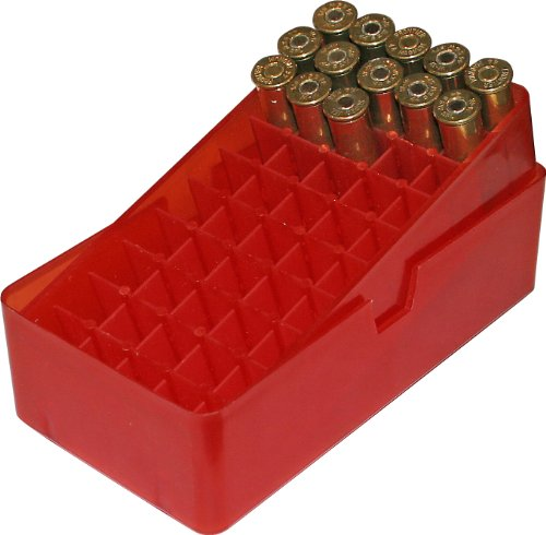 MTM 50rd Ammo Box .45 - Slip Top (Red) from MTM