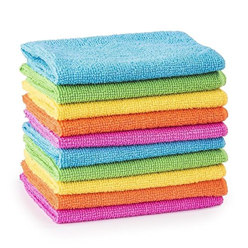 10/20/30/40/50 Microfibre Cleaning Cloths Dusters Car Bathroom Polish Towels (40) from MTS
