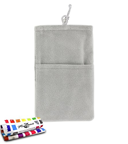 MUZZANO Original Cocoon Pouch for HTC Titan - Mouse Grey from MUZZANO