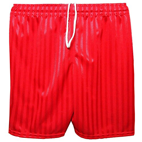MyShoeStore Unisex PE Shorts Boys Girls Kids Children Adults Back to School Uniform Shadow Stripe Sports Gym Football Games P.E. Pull Up Short from MyShoeStore