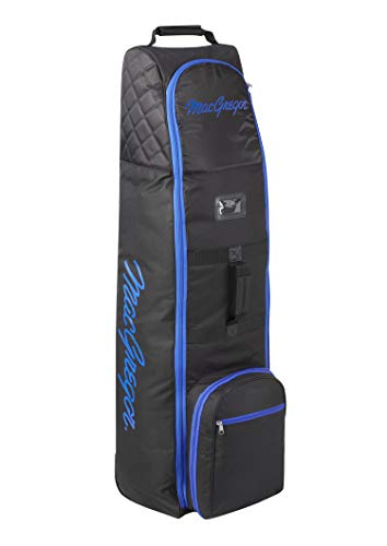 MacGregor Unisex's VIP Deluxe Wheeled Travel Cover, Black/Royal Blue, ONE Size from MacGregor