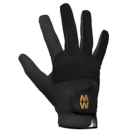MacWet Micromesh Rain Golf Gloves - Pair - Black - 7.5 from MacWet