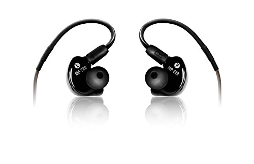 Mackie MP-220 Professional In-Ear Monitors with Dual Dynamic Driver from Mackie