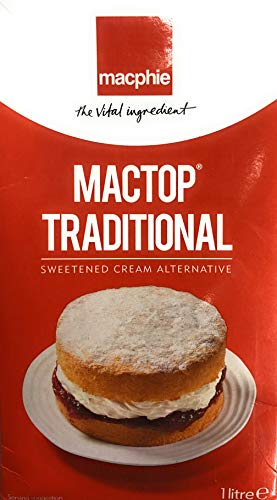 Macphie Mactop Traditional, Cream for Cakes and Doughnuts from Mactop