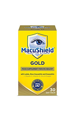 Macu Shield Gold Food Supplement - 30 day pack from Macushield