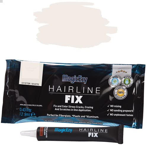 MagicEzy Hairline Fix - Fiberglass Repair for Boats & Jet Skis (Oyster White) from MagicEzy