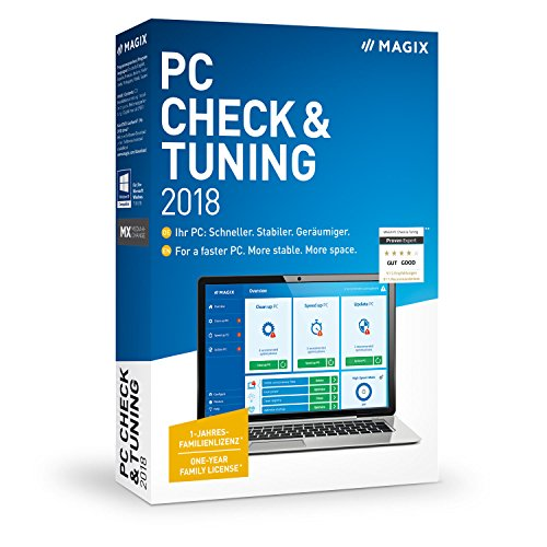 MAGIX Check & Tuning - 2018 Version (PC) from Magix Entertainment