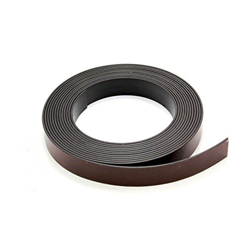 Magnet Expert® 19mm wide x 1.5mm thick Magnetic Tape with Premium Self Adhesive - Self Mating ( 30m Length ) from MagFlex