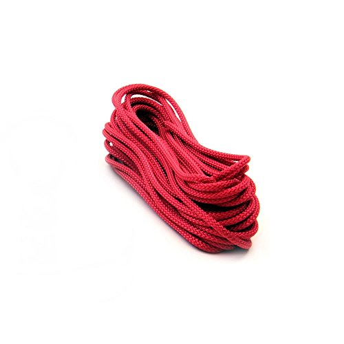 Magnet Expert® 10 metres of 4mm dia Polyester Rope - Red (420kg breaking strength) (1 x 10 metre length) from first4magnetsTM