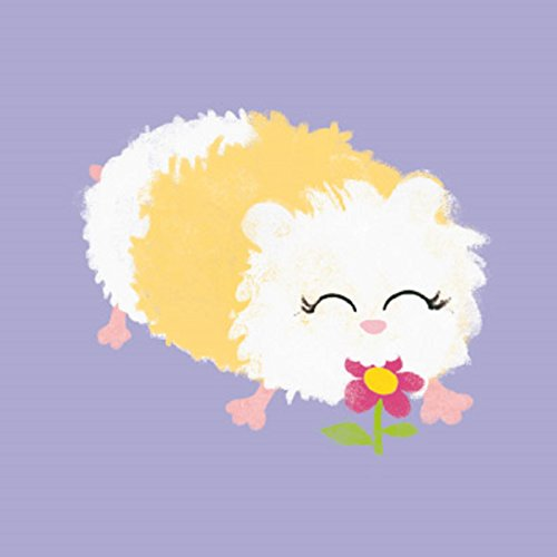 Guinea Pig and Flower Greetings Card from Magnet and Steel