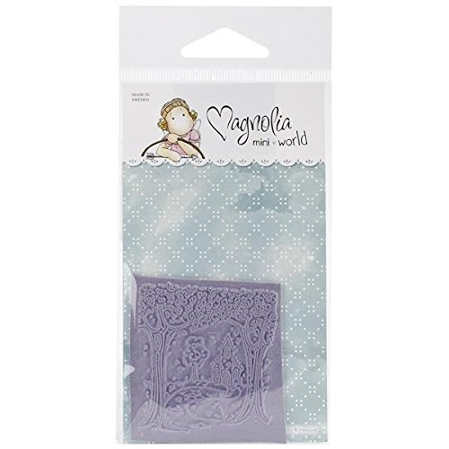 Magnolia Rubber Mini Special Moments Cling Stamp 2.75-Inch x 5.75-Inch Package-Vintage Swedish Background from Magnolia
