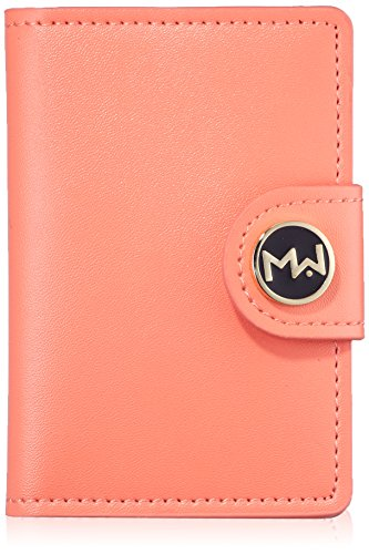 Mai Couture Papier Wallet, Coral from Mai Couture