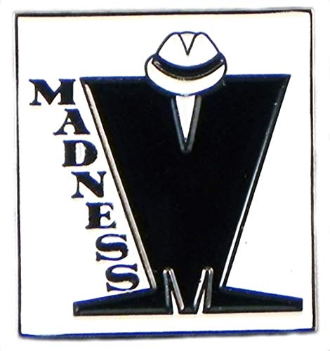 Metal Enamel Pin Badge Brooch Madness Ska Reggae Music Scooter MOD from Mainly Metal