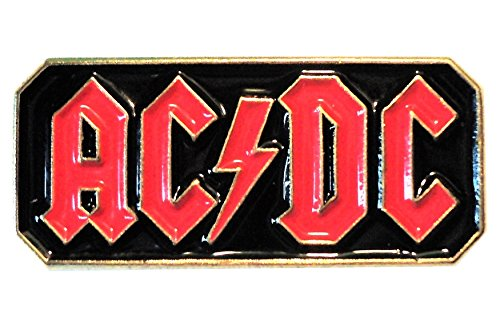 Metal Enamel Pin Badge Brooch Rock Music ACDC from Mainly Metal