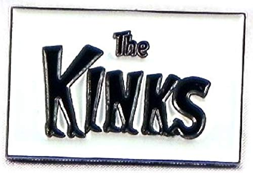 Metal Enamel Pin Badge The Kinks from Mainly Metal