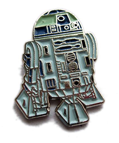 Metal Enamel Pin Badge Star Wars R2D2 (R2-D2) Robot Droid from Mainly Metal